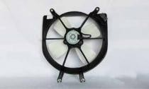 1999 - 2000 Honda Civic Radiator Cooling Fan Assembly