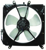 1993 - 1997 Toyota Corolla Radiator Cooling Fan Assembly