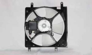 2001-2003 Mitsubishi Galant Radiator Cooling Fan Assembly