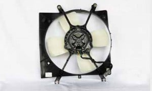 1994-1998 Mitsubishi Galant Radiator Cooling Fan Assembly (S / ES / LS / Automatic)