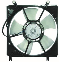2001 - 2005 Toyota RAV4 Radiator Cooling Fan Assembly