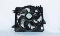 1996 - 2000 Hyundai Elantra Radiator Cooling Fan Assembly