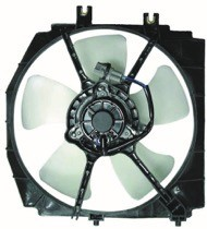 1999 - 2003 Mazda Protege Radiator Cooling Fan Assembly