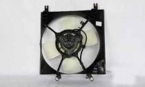 1997 - 2002 Mitsubishi Mirage Radiator Cooling Fan Assembly (1.5L + Automatic)