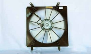 2002-2006 Honda CR-V Radiator Cooling Fan Assembly