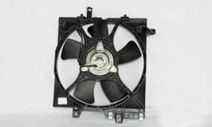 1999-2002 Subaru Forester Radiator Cooling Fan Assembly
