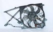 2000 - 2005 Saturn L Radiator Cooling Fan Assembly