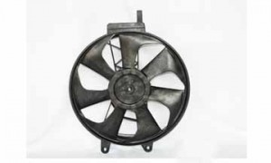1991-1992 Chrysler Town & Country Radiator Cooling Fan Assembly