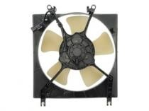 1997 - 2002 Mitsubishi Mirage Radiator Cooling Fan Assembly (1.8L + Automatic + TYC)