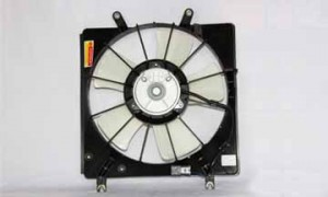 2003-2007 Honda Accord Radiator Cooling Fan Assembly (Coupe / Sedan / V6 / Left Side)