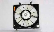 2003 - 2007 Honda Accord Radiator Cooling Fan Assembly (Coupe + Sedan + V6 + Left Side)