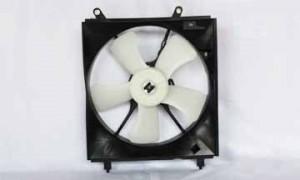 1997-1999 Toyota Camry Radiator Cooling Fan Assembly (V6 / USA Built / Left Side)
