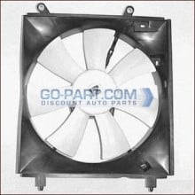 1997-1998 Toyota Camry Radiator Cooling Fan Assembly (USA Built)
