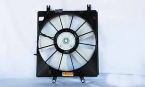 2004-2006 Acura TL Radiator Cooling Fan Assembly