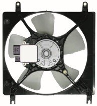 2000 - 2005 Mitsubishi Eclipse Radiator Cooling Fan Assembly