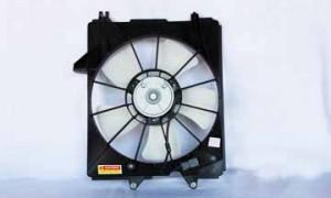 2005-2007 Honda Odyssey Radiator Cooling Fan Assembly
