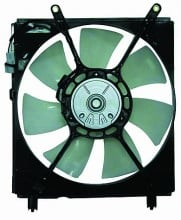 1999-2001 Lexus ES300 Radiator Cooling Fan Assembly (Left Side)