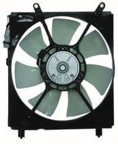 1999 - 2001 Lexus ES300 Radiator Cooling Fan Assembly (Left Side)