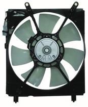 2000 - 2001 Toyota Camry Radiator Cooling Fan Assembly (Left Side + V6)