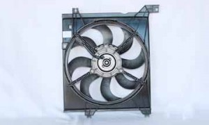2005-2009 Kia Spectra Radiator Cooling Fan Assembly
