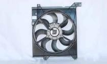 2005 - 2009 Kia Spectra Radiator Cooling Fan Assembly