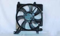 2003-2008 Hyundai Tiburon Radiator Cooling Fan Assembly