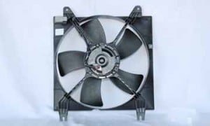 2005-2008 Suzuki Reno Radiator Cooling Fan Assembly (Left Side)