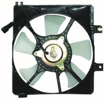 1993 - 1995 Mazda 626 Condenser Cooling Fan Assembly