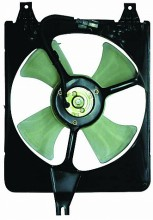1998-2002 Honda Accord Condenser Cooling Fan Assembly (4 Cylinder)