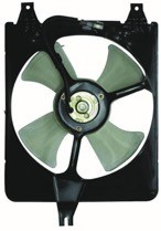 1998 - 2002 Honda Accord Condenser Cooling Fan Assembly (4 Cylinder)
