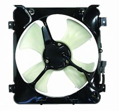 1996-1998 Honda Civic Condenser Cooling Fan Assembly