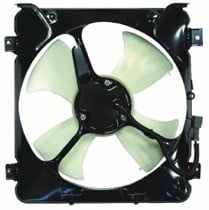 1996 - 1998 Honda Civic Condenser Cooling Fan Assembly