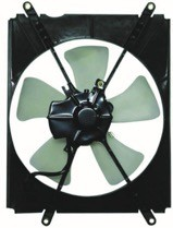 1992 - 1996 Toyota Camry Condenser Cooling Fan Assembly
