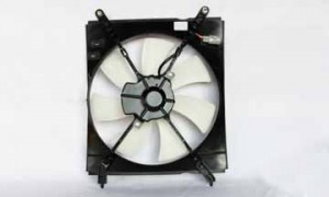2000-2001 Toyota Camry Radiator Cooling Fan Assembly (Right Side / 4 Cylinder / Japan)