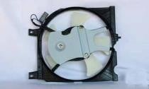 1995 Nissan Sentra Condenser Cooling Fan Assembly