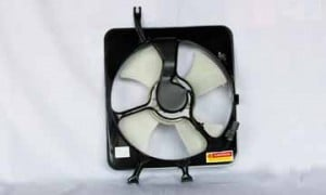 1997-2001 Honda CR-V Condenser Cooling Fan Assembly