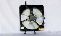 1997 - 2001 Honda CR-V Condenser Cooling Fan Assembly