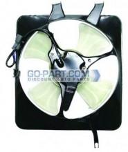 1999-2001 Honda CR-V Condenser Cooling Fan Assembly