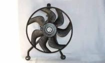 1994 - 1999 Cadillac Deville Condenser Cooling Fan Assembly