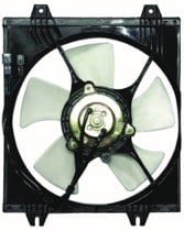 1994 - 1997 Mitsubishi Galant Condenser Cooling Fan Assembly