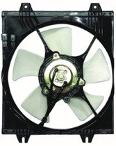 1998 Mitsubishi Galant Condenser Cooling Fan Assembly