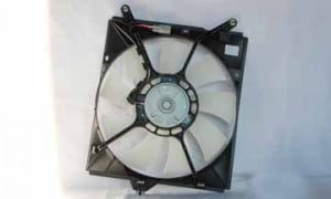 2000-2004 Toyota Avalon Condenser Cooling Fan Assembly