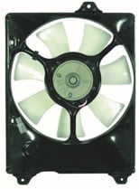 1998 - 2003 Toyota Sienna Radiator Cooling Fan Assembly (Right Side)