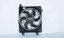 1996 - 2000 Hyundai Elantra Condenser Cooling Fan Assembly