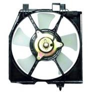 1999 - 2000 Mazda Protege Condenser Cooling Fan Assembly