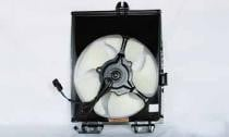 1997-2002 Mitsubishi Mirage Condenser Cooling Fan Assembly