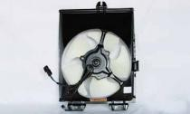 1997 - 2002 Mitsubishi Mirage Condenser Cooling Fan Assembly