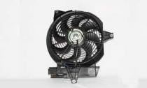 2001 - 2006 Hyundai Santa Fe Condenser Cooling Fan Assembly