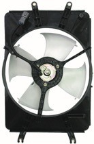 2003 - 2008 Honda Pilot Condenser Cooling Fan Assembly