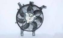 2001-2004 Nissan Frontier Condenser Cooling Fan Assembly